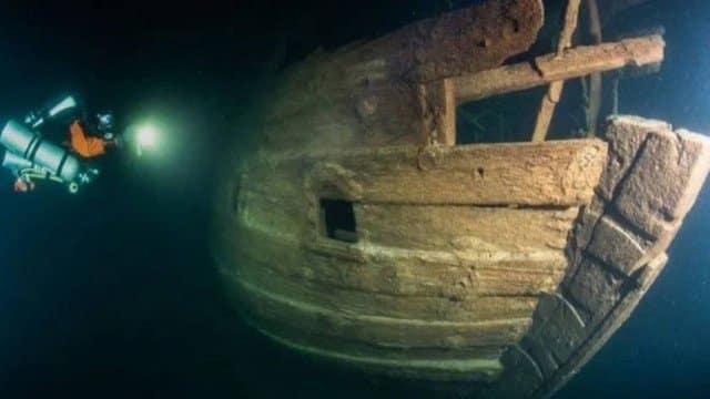 Navio encontrado na Finlândia afundou a mais de 400 anos