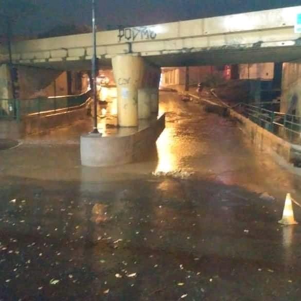 Montes Claros - Chuva forte causa alagamentos em bairros de Montes Claros